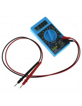 Mini DT-830B Multimeter Auto Range Digital Voltmeter Ohmmeter Volt Tester LCD