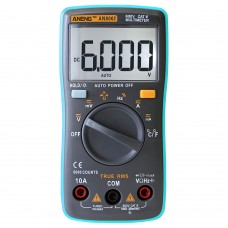 ANENG AN8002 Digital Ture RMS 6000 Counts Multimeter AC/DC Current Voltage Frequency Resistance Temperature Tester  /