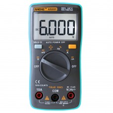 ANENG AN8001 Professional Digital Multimeter 6000 Counts Backlight AC/DC Ammeter Voltmeter Ohm Teste