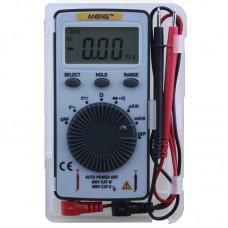 ANENG AN101 Pocket Digital Auto Range Multimeter Backlight AC/DC Voltage Current Meter SA847
