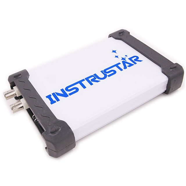 ISDS205X Virtual PC USB Oscilloscope DDS Signal and Logic Analyzer 2CH 20MHz Bandwidth 48MSa/s 8bit ADC FFT Analyzer