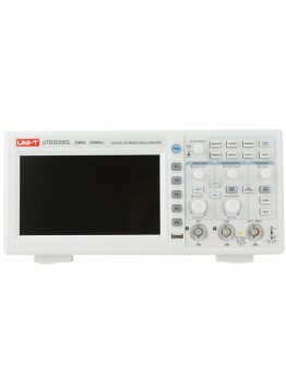 UNI-T UTD2025CL 25MHz 250Ms/s Digital Storage Oscilloscope DSO 2Channels 7inch TFT LCD Scopemeter