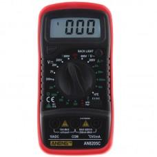 ANENG AN8205C Digital Multimeter AC/DC Voltage Meter DC Ammeter Resistance Temperature Tester -20 ~1300