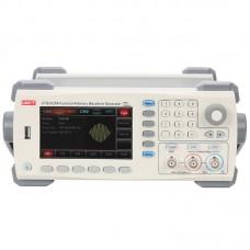UNI-T UTG2025A 25MHz USB Dual Channels Signal Function Arbitrary Waveform Generator 200MSa/s 4.3inch TFTLCD Arb. Memory Depth 1M