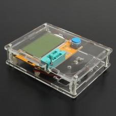 LCR-T4 Mega328 Transistor Tester Diode Triode Capacitance ESR Meter With Shell