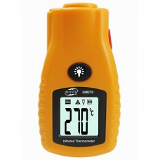 GM270 Digital LCD Non-contact Infrared Thermometer  Mini Pocket Laser Temperature Tester -32~280℃/ -26~536℉