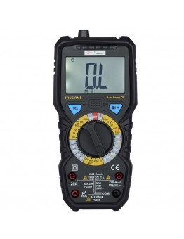 BSIDE ADM08A 6000 Counts True RMS Digital Multimeter with 1000V AC/DC Voltage Resistance Capacitance Frequency Duty Ratio Triode Tester