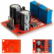 5Pcs NE555 Pulse Frequency Duty Cycle Adjustable Module Square Wave Signal Generator