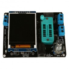 GeekTeches GM328A Transistor Tester Frequency Meter PWM Square Wave LCR Table Crystal Voltmeter
