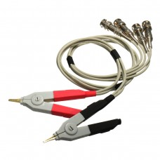 LCR Meter Test Leads /Clip Cable/Terminal Kelvin Probe Wires with 4 BNC