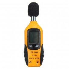 HT-80A Digital Sound Pressure Tester Level Meter 30~130dB Decibel Noise Measurement