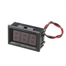 3Pcs 0.56 Inch Red AC70-500V Mini Digital Voltmeter Voltage Panel Meter AC Voltage LED Display Meter